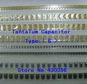 10PCS Tantala Kondensators Tips:B 106 10UF 25V