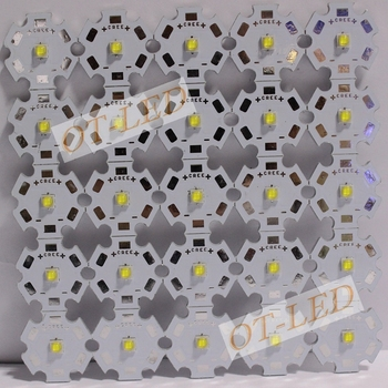 10PCS SemiLEDs 3535 LED 1-3W led Auksti Balts 6000-6500K LED Avotu ar 20MM/16MM/14MM/12MM/DIY 8MM